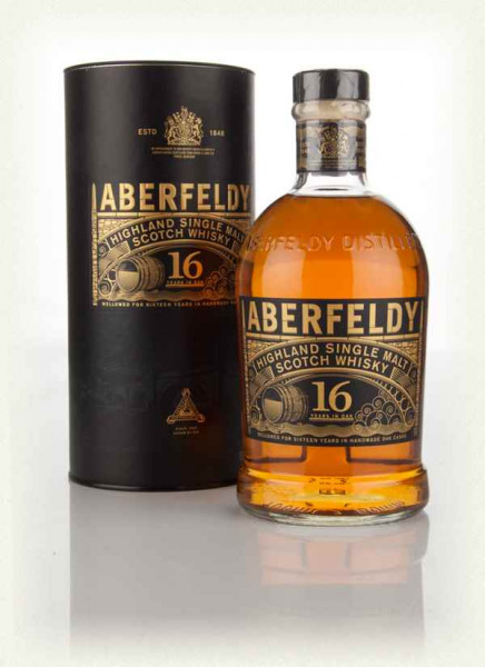 Aberfeldy 16 Single Malt Scotch Whisky 700ml 40% Vol., Flasche, Geschenkverpackung