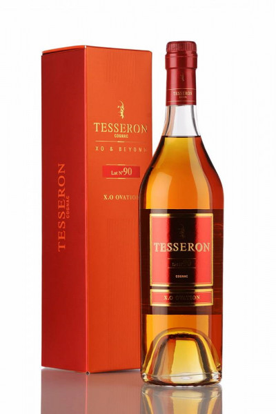 Tesseron X.O Ovation Cognac Lot n° 90 avec coffret cadeau