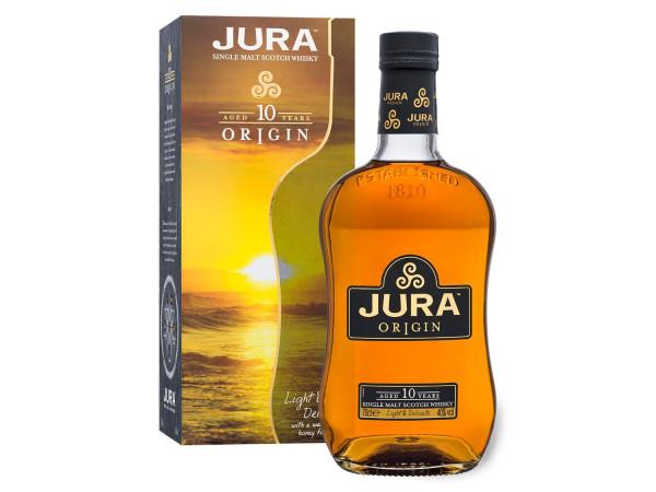 Whisky de malta de origen de la Isla de Jura 10 años