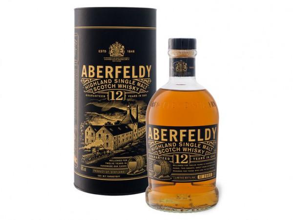 Aberfeldy Highland Single Malt Whiskey 12 Jahre