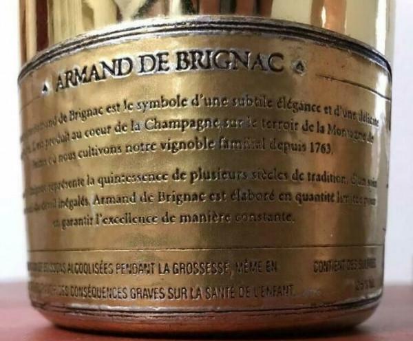"""Armand de Brignac """"Brut Gold"""""""