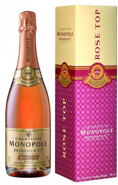 Champagne Monopole Heidsieck Rosé Top Brut