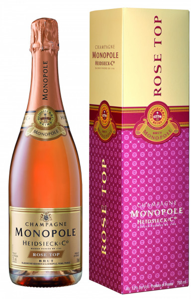 Monopole Heidsieck Rosé Top Brut Champagner