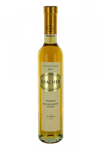 Kracher Trockenbeerenauslese Traminer 2017 Nouvelle Vague no.2, 0,375L, 10,5% vol.