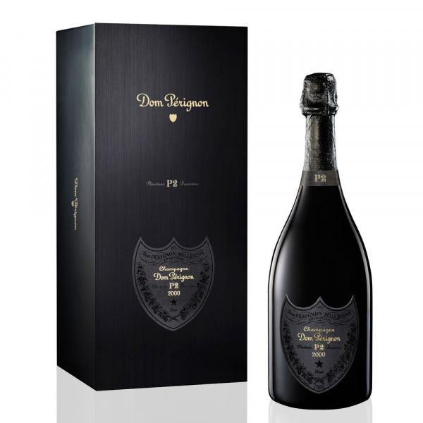 """Dom Pérignon """"Vintage P2 2000"""" en caja de madera exclusiva"""
