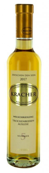 Kracher TBA No.5 Welschriesling 2017, Zwischen den Seen 0,375L, 7% vol.