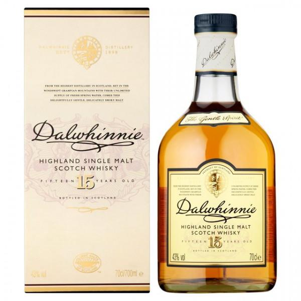 Dalwhinnie 15 Years Highland Single Malt Scotch Whiskey