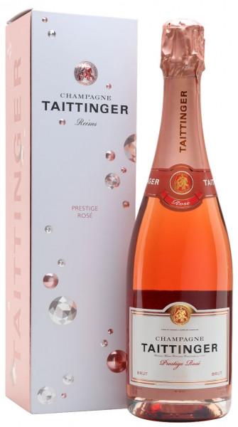 Taittinger Prestige Rosé Brut in Geschenkverpackung