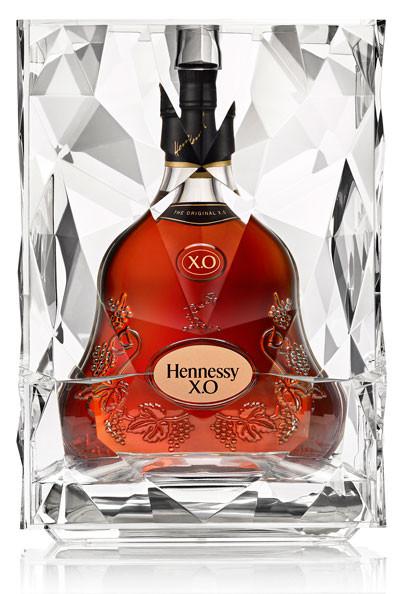 Hennessy XO Cognac, Limited special Eisbox, Geschenkset gleichzeitig als Kühler, 0,7L