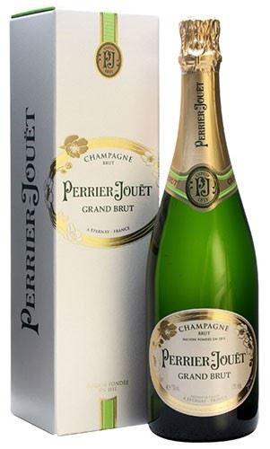 Perrier Jouët Grand Brut Champagner mit Geschenkverpackung