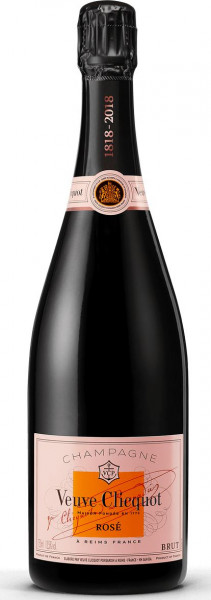 Veuve Clicquot Rosé Champagner mit Geschenkverpackung