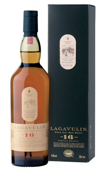 Lagavulin 16 Years Islay Single Malt Whiskey