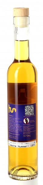 M U V I N 香蕉酒蓝标。