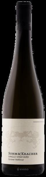 Sohm & Kracher Grüner Veltliner Vineyard 2015 0,75L 13% vol. Flasche